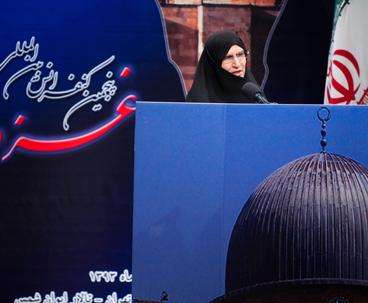 الامام الخميني جعل القضية الفلسطينية القضية الأولى في العالم
