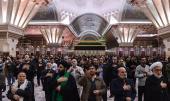 إقامة مراسم عزاء أربعينية الامام الحسين (ع) في مرقد الامام الخميني
