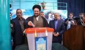 إقامة الانتخابات في حسينية جماران