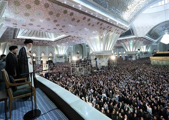 جانب من كلمة الامام الخامنئي خلال مراسم احياء ذكرى رحيل الامام الخميني(1)