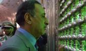 وزير التربیة و التعلیم یزور المرقد الامام الخمینی