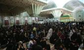 مراسم ذكرى استشهاد السيدة فاطمة سلام الله عليها في مرقد الامام