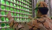 الجنود النخبة في القوات المسلحة يجددون العهد مع مبادئ الامام الخميني