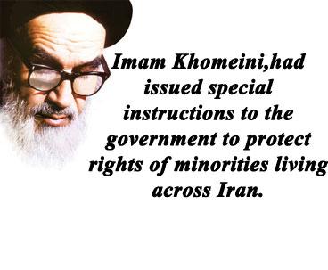 Imam Khomeini shielded rights of minorities