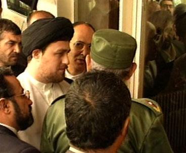 Fidel Castro visited Imam Khomeini's historic residence