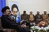Ayatollah Seyyed Hassan Khomeini meets members of cultural  councils