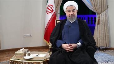 Iranian president denounces twin terror attacks in Tehran