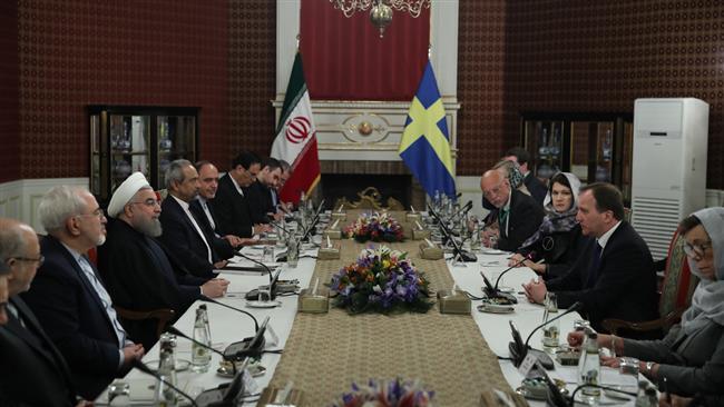 Iran president stresses to uproot terrorism