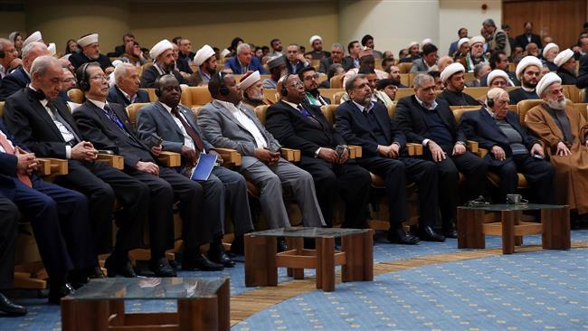 International summit on Palestine wraps up in Tehran