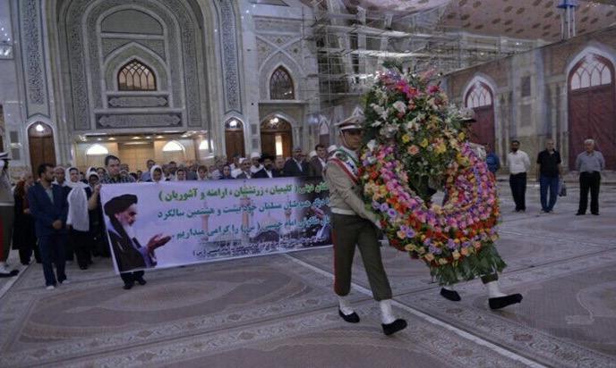Renouvellement du pacte des minorités religieuses vis-à-vis des idéaux de l'Imam Khomeini  ( Que DIEU sanctifie son noble secret )