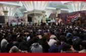 """امام خمینی کے حرم میں """" شب اربعین حسینی (ع)""""، سید حسن خمینی سمیت عوام کی خالصانہ شرکت/۲۰۱۶ء"""