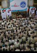 سید حسن خمینی کی ملک بھر کے نیشنل آرمی اینڈ کوچز رہنماؤں کے کیمپ میں حاضری /۲۰۱۶