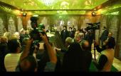 اسلامی حکومت ویک؛ صدر اور اراکین حکومت کی حرم امام میں حاضری، امام خمینی(رح) کے ساتھ تجدید عہد /۲۰۱۶