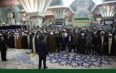 امام خمینی کے حرم میں سنہ ۱۳۹۵ کا آخری پروگرام، خمینی خاندان اور شہدا کی یاد /۲۰۱۷ء