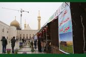 """امام خمینی(رح) کے حرم میں نو روز ۱۳۹۶ھ، شمسی کے شروعات میں """" عطر یاس """" کے عنوان سے ثقافتی سیاحتی نمائشگاہ /۲۰۱۷ء"""