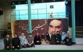 روسی طالب علموں کے ایک گروپ نے امام خمینی کےگھر اور حسینیہ جماران کا دورہ کیا /۲۰۱۷ء
